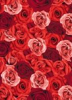 Ubrus z netkané textilie 138x220cm Romance (1ks)