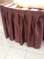 Banketová sukňa teflónová - hnedá 0,73x2m - posledný kus AKCIA