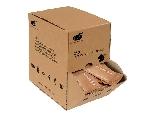 Vlhčené ubrousky - kompostovatelné v kartonovém zásobníku (4 krabičky po 250ks)