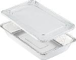 Aluminiové krabičky s alum. viečkom 52,5x32,5x8cm, objem 11450ml (40ks)