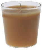 Náhradní náplň do svícnu medová (1ks) AKCE
