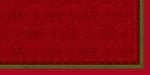 Ubrus z netkané textilie 84x84cm Festive Charme red AKCE