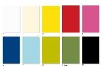 Umývateľný obrus Dunisilk+ jednofarebný 138x220cm (5ks)