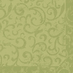 Luxusní ubrousek 40cm Dunilin Sarala avokádo (1ks)