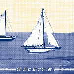 Ubrousky 33x33cm/3vrst. Sailing (250ks) AKCE