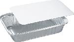 Aluminiové krabičky s papír. víčkem 21,2x14,7x4cm, objem 870ml (400ks)