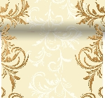 Šerpa z netkané textilie 0,4x4,8m Grace cream