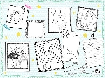 Prostírání papírové 30x40cm Keep Drawing (1000ks)