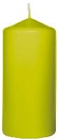 Sviečka valec 10x5cm kiwi