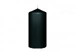 Svíčka válec 13x6cm černý AKCE