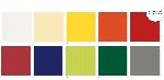 Umývateľný obrus Dunisilk+ Linnea jednofarebný 84x84cm (100ks)
