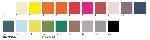 Servítky 33cm/3vrst. jednofarebné (1000ks)