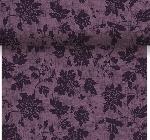 Šerpa z netkanej textílie 0,4x4,8m Venezia plum
