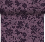 Šerpa z netkané textilie 0,4x4,8m Venezia plum