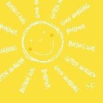Servítky 24cm/3vrst. Be Happy (2000ks)
