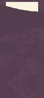 Púzdro na príbor slivkové s bielou servítkou 8,5x19cm (500ks)