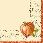 Luxusné obrúsky 40x40cm Duniliny Fruits of Autumn (50ks) AKCIA