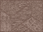 Snídaňové prostírání papírové 30x40cm Elwin greige (1000ks)