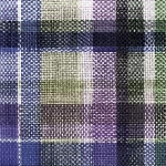 Servítky 33x33cm/3vrst. Purple check (20ks)