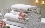Froté uterák DINO, rozmer 50x100cm, biely