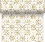 Šerpa z netkané textilie 0,4x4,8m Christmas Deco cream