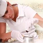 Rukavice nylonové jemné biele (12 párov)