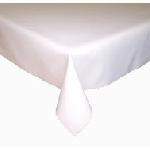Ubrus teflonový bílý hladký, rozměr 120x140cm AKCE