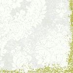 Servítky 40x40cm/4vrst. Royal white (300ks)