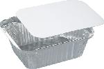 Aluminiové krabičky s papír. víčkem 14,4x11,9x4cm, objem 430ml (400ks)