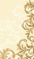 Ubrus z netkané textilie 84x84cm Grace cream (10ks)