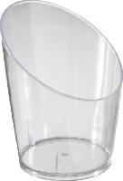 Plastové servírovací misky Food tube, rozměr 4,5x5,8cm (6x65ks)