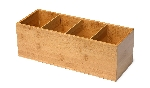 Zásobník na ubrousky bambusový, 36x14cm (2ks)