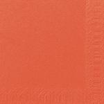 Servítky 33cm/2vrst. mandarinkové (125ks) AKCIA