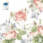 Hodvábne obrúsky Dunisoft 40x40cm Garden Pride (12ks) AKCIA