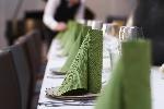 Obrúsky Elegance Lily 40x40cm listovo zelené (40ks)